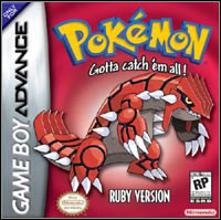 Game Pokemon Ruby (GBA) Cover