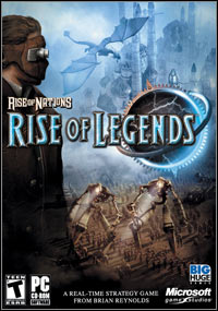Okładka Rise of Nations: Rise of Legends (PC)