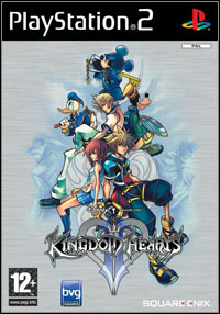 Game Kingdom Hearts II (PS2) Cover