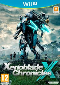 Okładka Xenoblade Chronicles X (WiiU)