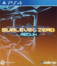 Game Sublevel Zero Redux (PS4) Cover