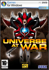 Okładka Universe at War: Earth Assault (PC)