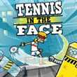 game Tennis in the Face