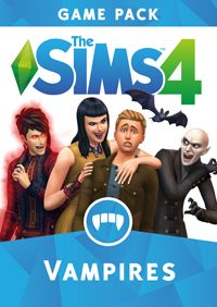 Game The Sims 4: Vampires (PC) Cover