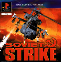 Okładka Soviet Strike (PS1)