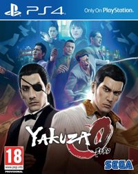 Yakuza 0 Game Box