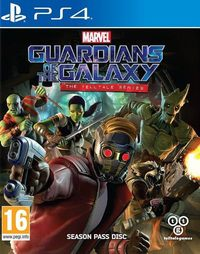 Game Marvel's Guardians of the Galaxy: The Telltale Series (PC) Cover