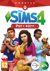 The Sims 4: Cats & Dogs Game Box