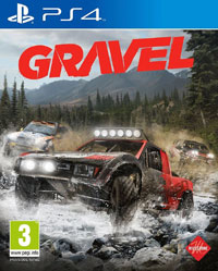 Okładka Gravel (PS4)