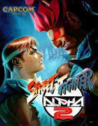 Okładka Street Fighter Alpha 2 (PC)