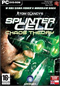 Tom Clancy's Splinter Cell: Chaos Theory Game Box