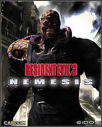 Resident Evil 3: Nemesis Game Box
