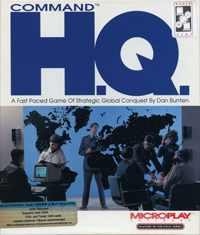 Game Command HQ (PC) Cover