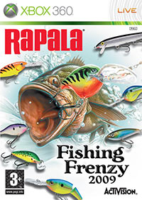 Rapala fishing frenzy xbox 360 for Ps3 fishing games