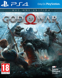 Okładka God of War (PS4)