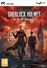 Sherlock Holmes: The Devil's Daughter Game Box