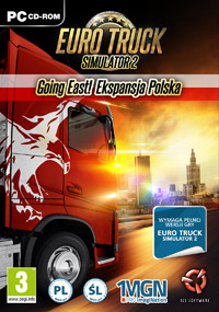 Euro Truck Simulator 2: Going East! Game Box
