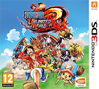 Game One Piece: Unlimited World Red (3DS) Cover