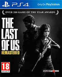 Okładka The Last of Us: Remastered (PS4)