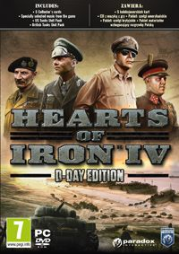 Okładka Hearts of Iron IV (PC)