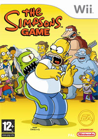 Okładka The Simpsons Game (Wii)