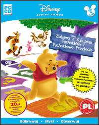 Disney's Party Time With Winnie The Pooh: Action Game