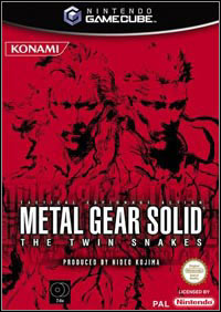 Game Metal Gear Solid: The Twin Snakes (GCN) Cover