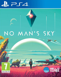 Game No Man's Sky (PS4) Cover