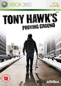 Okładka Tony Hawk's Proving Ground (X360)