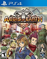 Game Aegis of Earth: Protonovus Assault (PSV) Cover