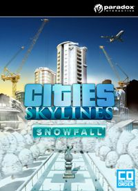 Game Cities: Skylines - Snowfall (PS4) Cover