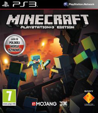 Okładka Minecraft (PS3)