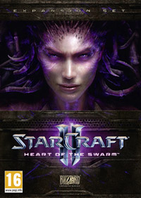 StarCraft II: Heart of the Swarm Game Box