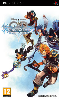 Game Kingdom Hearts: Birth by Sleep (PSP) Cover