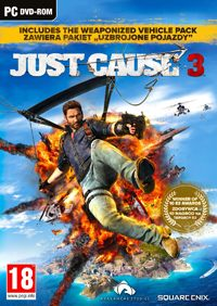 Just Cause 3 Game Box