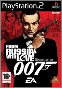 From Russia with Love Game Box