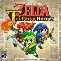 Game The Legend of Zelda: Tri Force Heroes (3DS) Cover