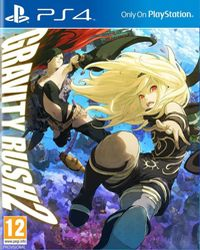 Okładka Gravity Rush 2 (PS4)