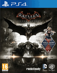 Okładka Batman: Arkham Knight (PS4)