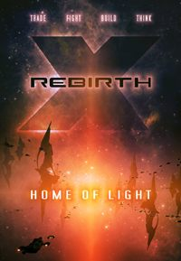 X Rebirth: Home of Light Game Box