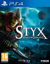 Game Styx: Shards of Darkness (PS4) Cover