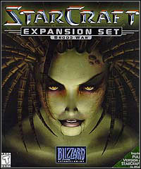 Okładka StarCraft: Brood War (PC)