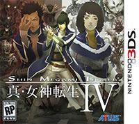 Game Shin Megami Tensei IV (3DS) Cover