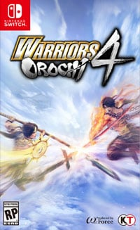 Okładka Warriors Orochi 4 (Switch)