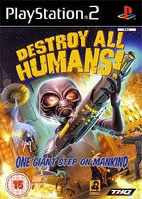 Okładka Destroy All Humans! (PS2)