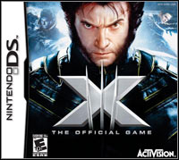 Okładka X-Men: The Official Game (NDS)