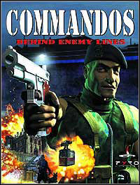 Commandos: Behind Enemy Lines Game Box