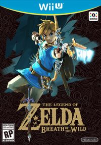 Game The Legend of Zelda: Breath of the Wild (WiiU) Cover