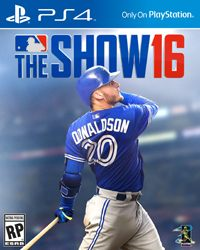 Game MLB: The Show 16 (PS4) Cover