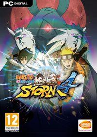 Game Naruto Shippuden: Ultimate Ninja Storm 4 (PS4) Cover